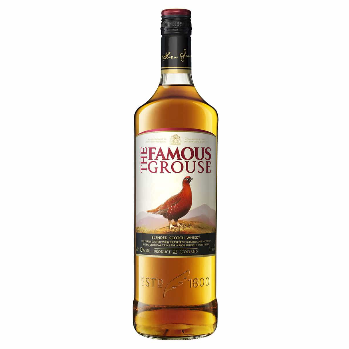 Famous Grouse Whisky 40% 1l